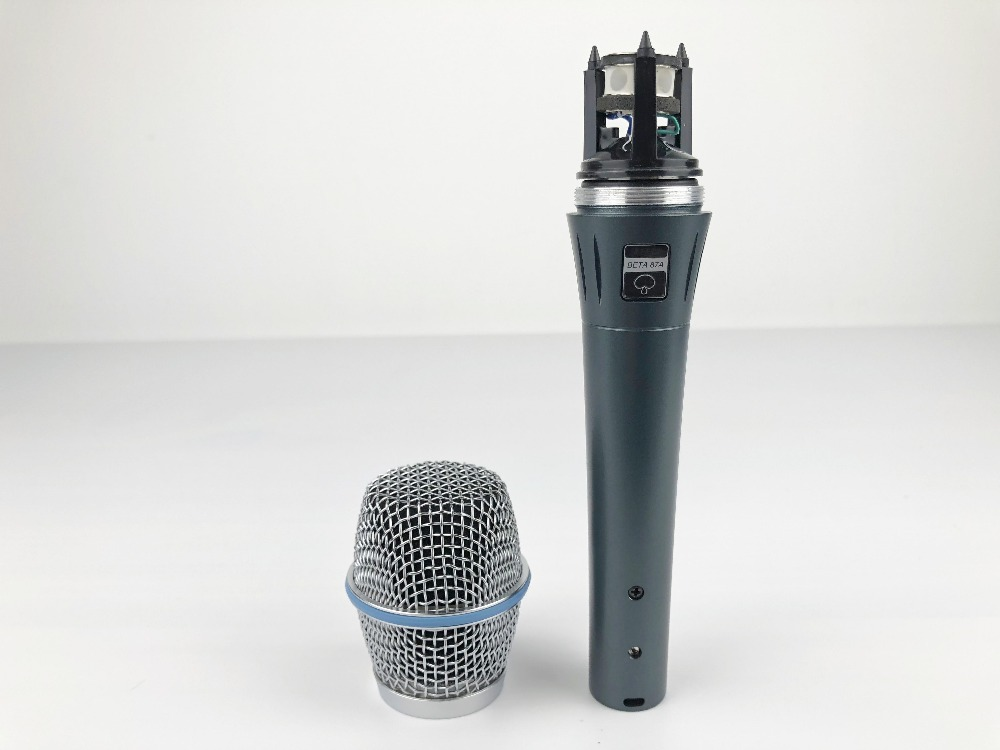 High quality Beta87A Supercardioid Condenser Clear Sound Handheld Wired Karaoke Microphone for Hot selling