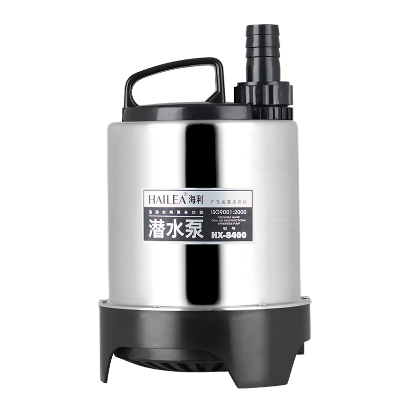 150w 4500l h hailea hx 8400 vertical stainless steel for Inline hydroponic pump