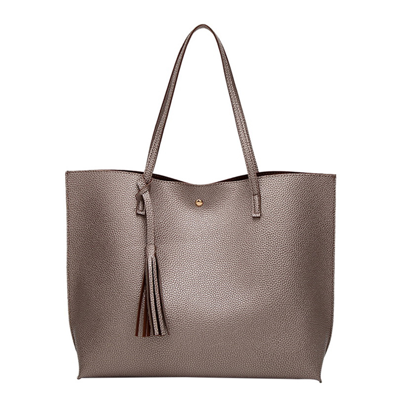 NIBESSER Women's Soft Leather Handbag High Quality Women Shoulder Bag Shopper Tote Bucket Bag Fashion Women's Handbags 2020 New