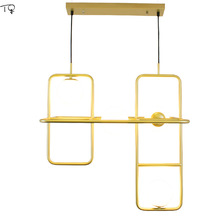 Nordic Pendant Lights Frame Magic Beans G9 Led Creative Personality Living Room Simple Modern Bedroom Restaurant Hanging Lamp