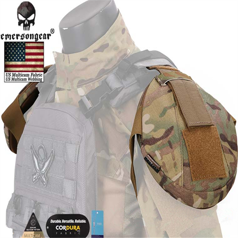 Emersongear 1 Pair Tactical Vest Shoulder Armor AVS CPC Vest Shoulder Protector MC,MCBK,RG,WG,CB