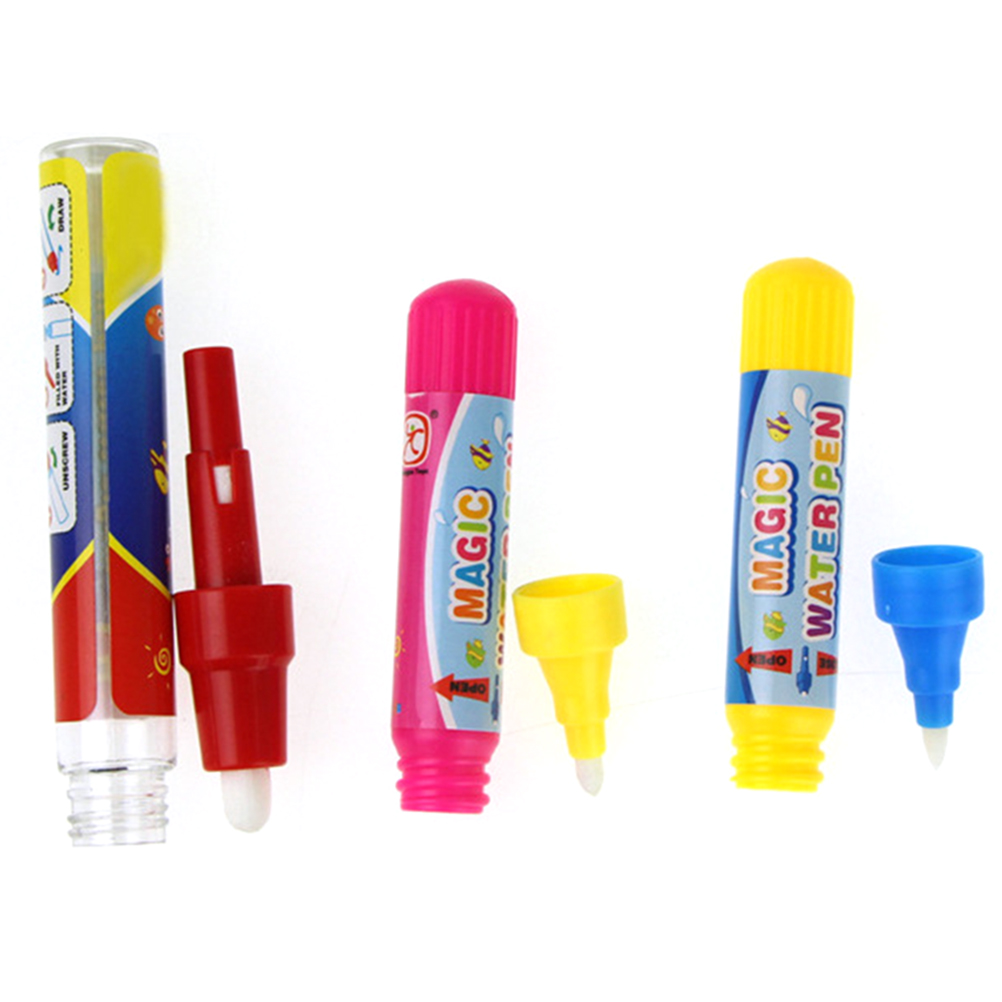 1 Pcs Water Drawing Pen Reusable Doodle Brush Magic Water Writting Doodle Pens Educational Toys For Children Painting Toy
