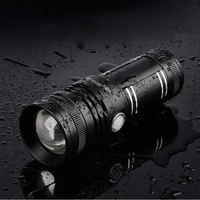 High Powerful Fishing Zoom CREE XML LED Flashlight 8000Lumens Aluminum Torch Flash Lamp With 4 Lights