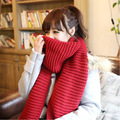 2016 Winter New Style Woman Knit Scarf Wool lic Scarves Inwinter knitting Women long Scarf Wholesale female180*45cm