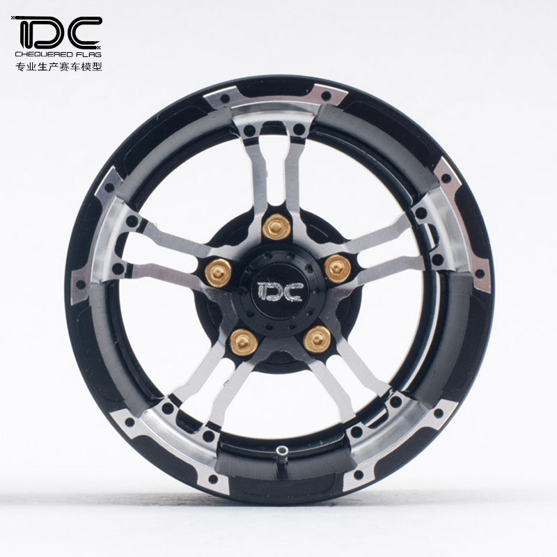 1.9/2.2inch High Quality 6061 Alloy CNC Wheel Rim For 1/10 RC Crawler Car Traxxas TRX4 Ford Bronco RC4WD D90 Axial Scx10 90046 hpi crawler king 1973 ford bronco электро влагозащита аппаратура 2 4ghz готовый комплект