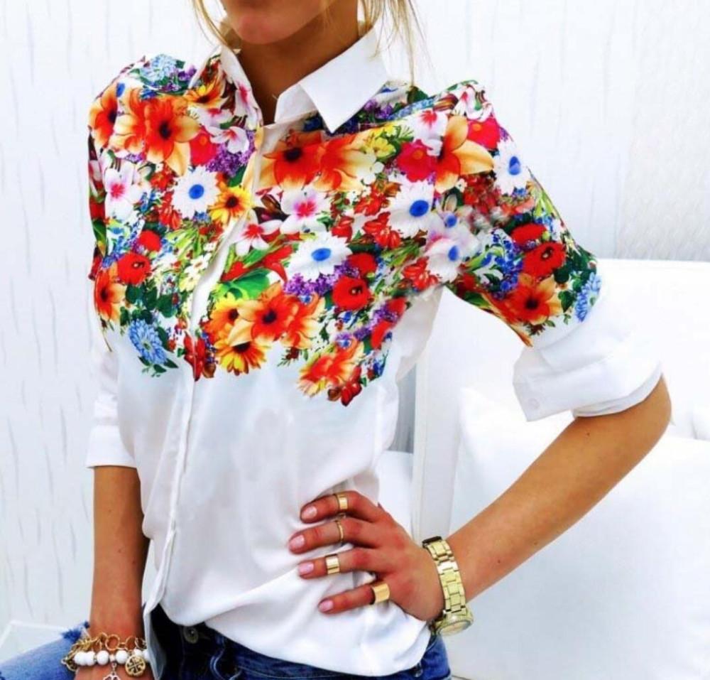 HTB1ALEzQVXXXXaWXpXXq6xXFXXXv - White Shirt Elegant Floral/Butterfly Long Sleeve Blouses Female
