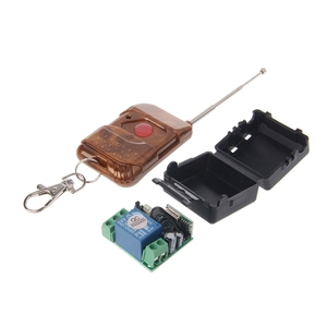 Image 2 - 1 PC DC 12V 10A Relay 1CH Wireless RF Remote Control Switch Transmitter + Receiver 315MHz/433MHz