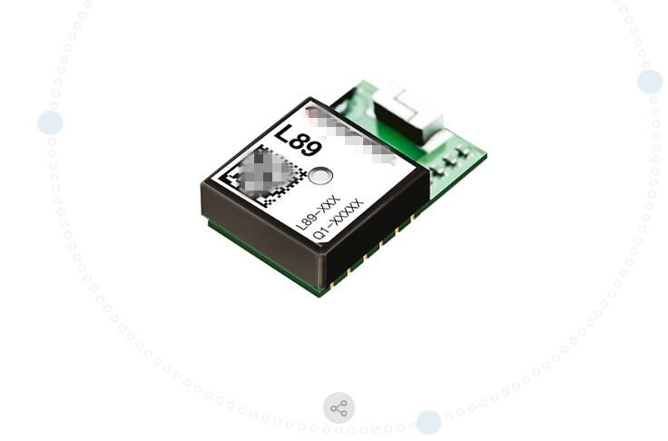 2pcs/lot GNSS L89  GPS Module, IRNSS, GLONASS, BeiDou, Galileo And QZSS L89-S90 Work At L1 And L5 Bands