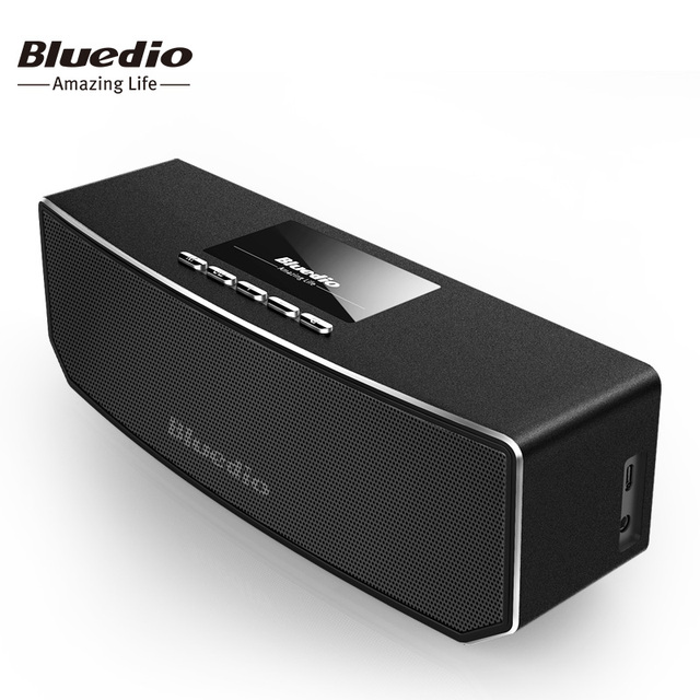 CS4 Bluedio Mini speaker Portátil Sem Fio Bluetooth speaker Música Sistema de Som 3D estéreo surround