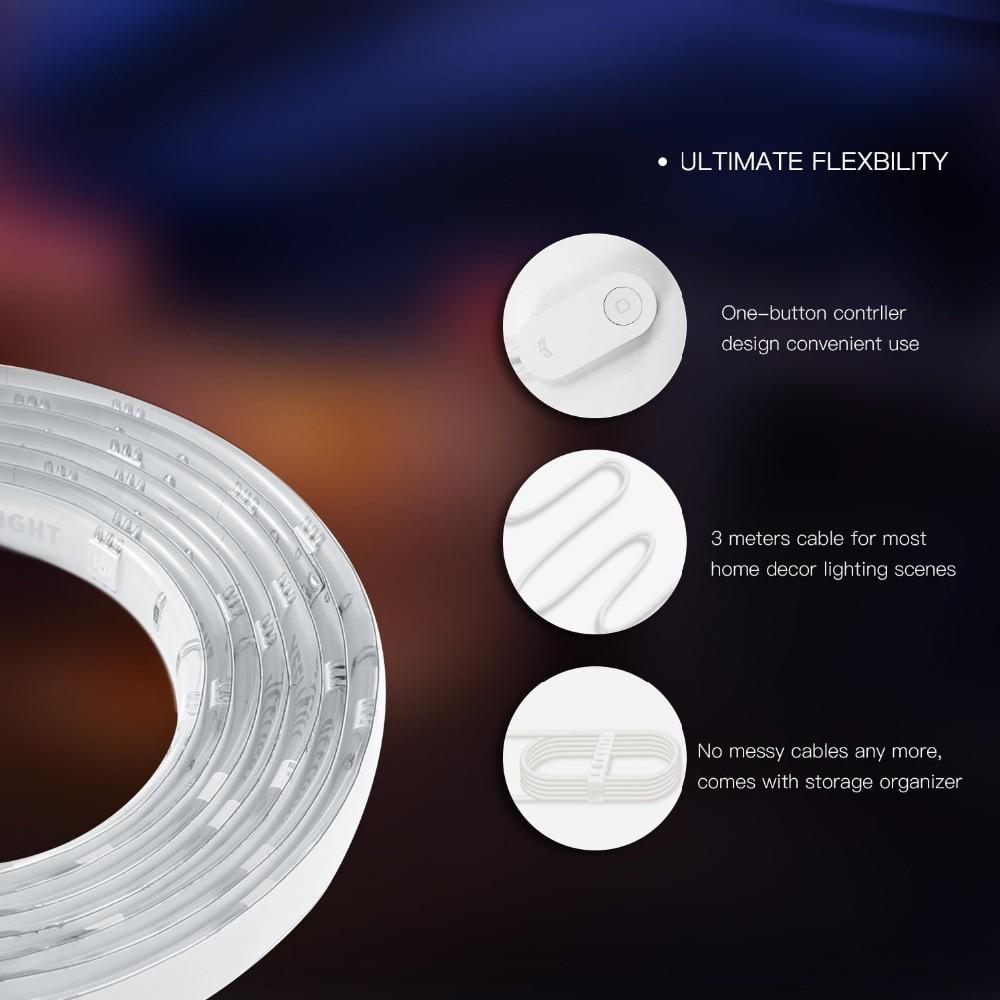 Original Xiaomi Yeelight RGB Banda de luz inteligente Smart Home - Electrónica inteligente - foto 4