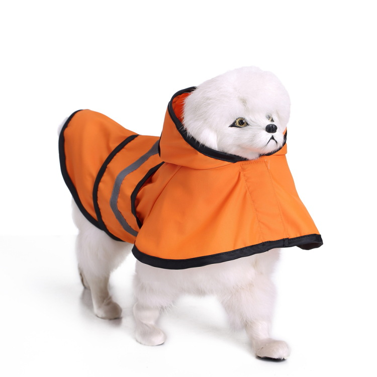 Small big Large Dog Raincoat Rainsuit waterproof Dogs cat pet hoodie poncho Jacket coat