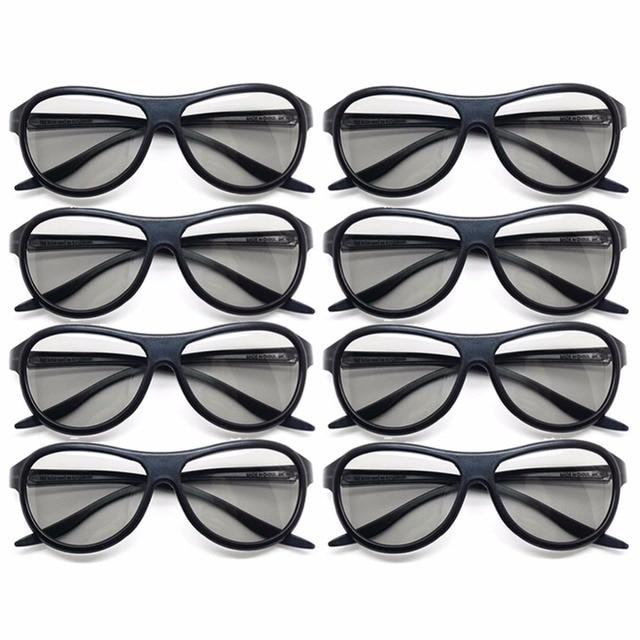 9a0e445508ae6 8 pçs lote Substituição AG-F310 Óculos Polarizados Passivos Óculos 3D Para  LG Samsung