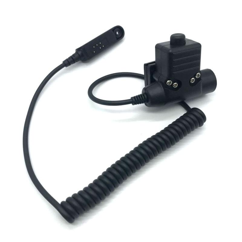Regular Z Tactical U 94 Headset U-94/A PTT for Baofeng MultiPin UV-XR A-58 UV9R Plus GT-3WP UV-5S 9700 Radio Walkie TalkieRegular Z Tactical U 94 Headset U-94/A PTT for Baofeng MultiPin UV-XR A-58 UV9R Plus GT-3WP UV-5S 9700 Radio Walkie Talkie