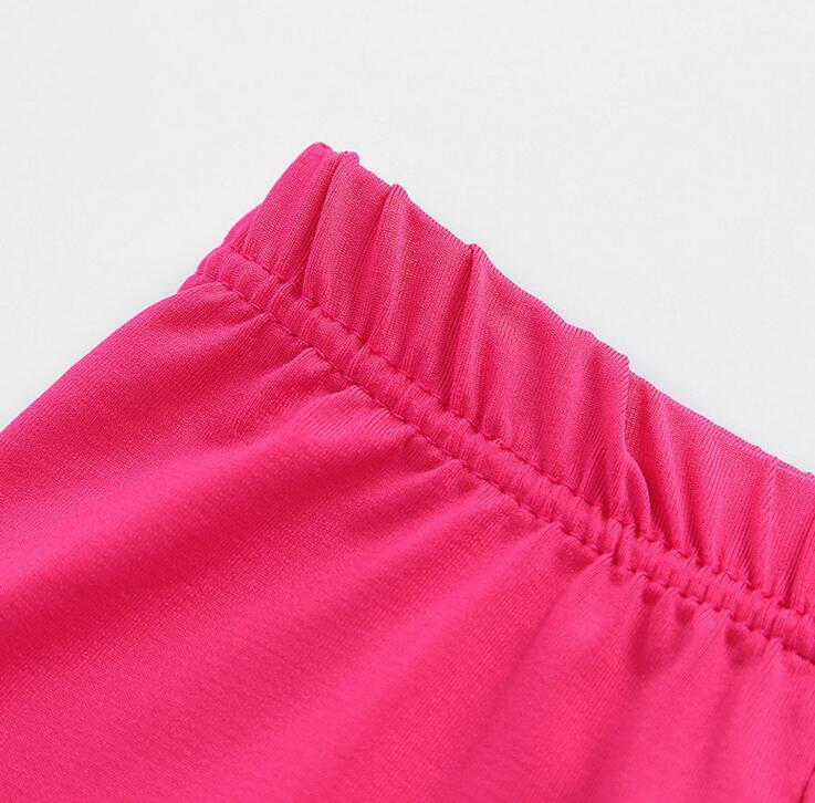 VEENIBEAR 2021 New Spring Summer Girl Leggings Pure Color Elastic Girl Pants Children Kids Pants Girl Clothes 3-11 Years 6