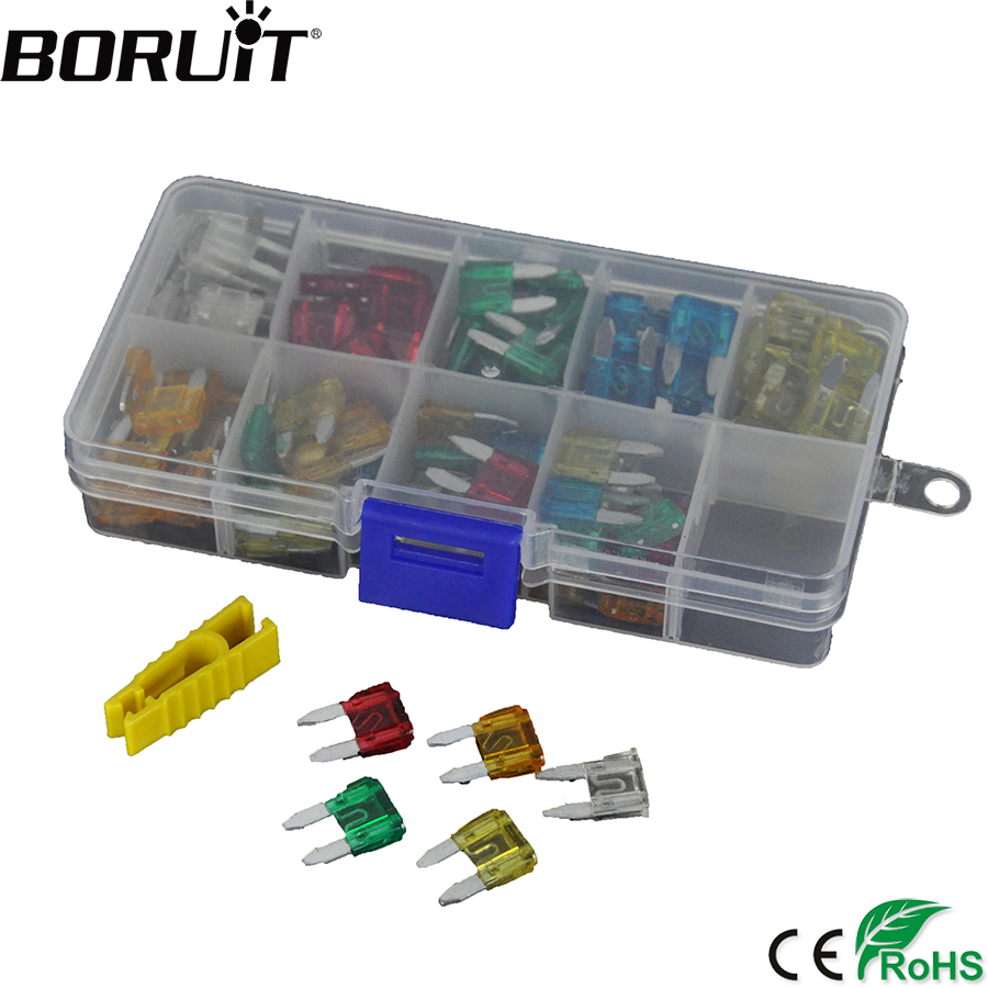 removal tool boat Car small MINI size blade fuses 120pc 5 10 15 20 25 30 amp