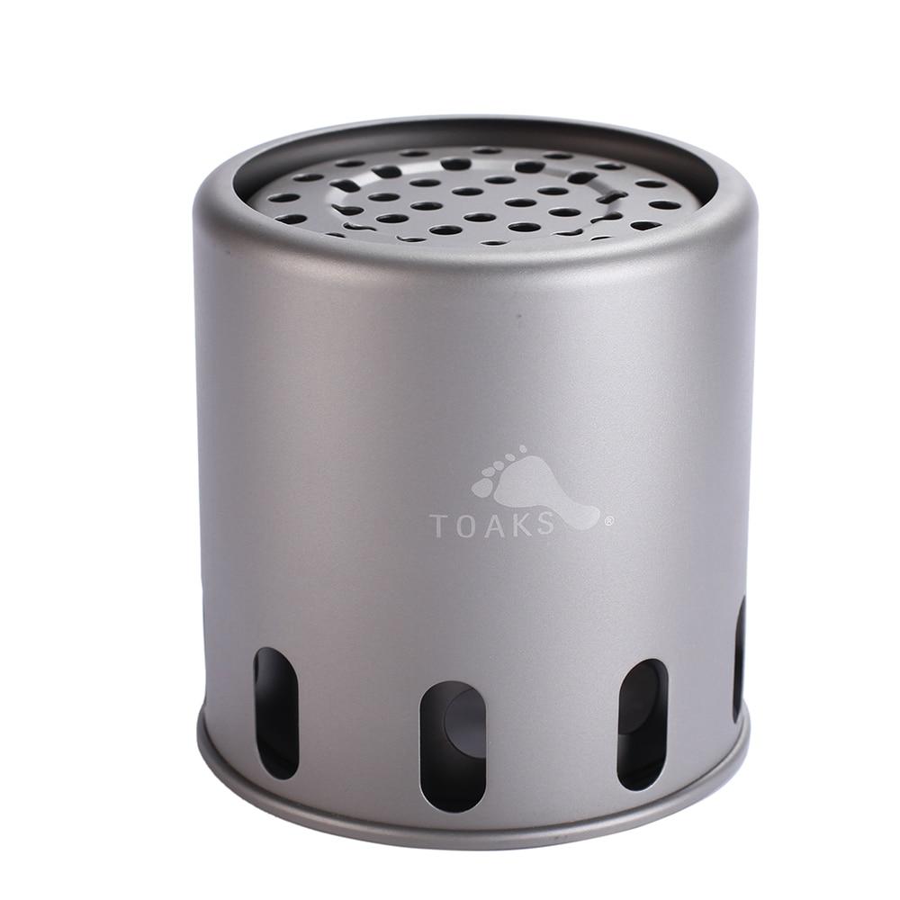 ultraleve titanio fogao lenha queima pequeno 03
