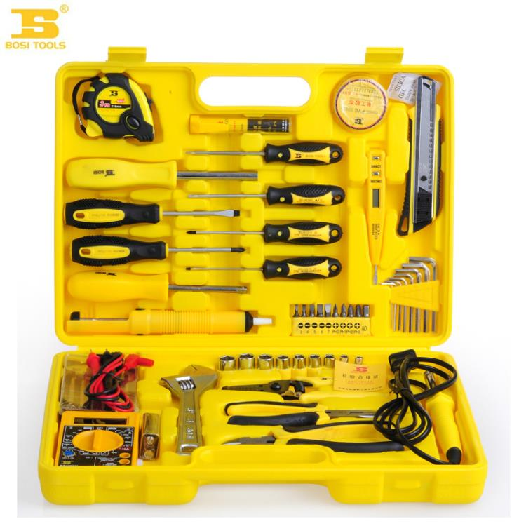 2016 Persian tools 53 piece of telecommunications hardware tool kit set a multimeter combo kit BOSI Tools dremel