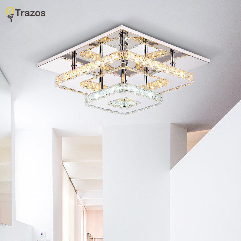 Modern Crystal LED Ceiling lights Fixture For Indoor Lamp lamparas de techo  Surface Mounting Ceiling Lamp. Online Buy Wholesale bedroom ceiling fixtures from China bedroom