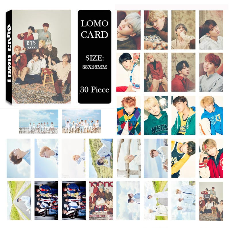 Self Made Calendar 2018 : Youpop kpop bts calendar style album lomo cards k pop