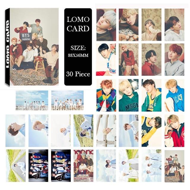 Self Made Calendar Photo : Youpop kpop bts calendar style album lomo cards k pop