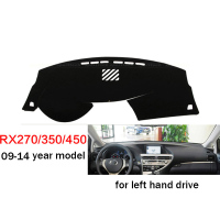 Car Styling Dashboard Cover For RX RX270 RX350 RX450 2009 2014 Left Hand Drive Dashmat Pad