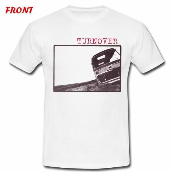 TURNOVER INDIE PUNK BAND SORORITY NOISE 2 SIDE WHITE T-SHIRT TEE S M L XL 2XL