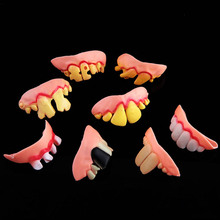 Funny Tricky Props Fake Buck Goofy Teeth Tooth Party Favors Gift  Hall
