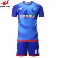 רזי כדורגל שרוול קצר להפוך ייחודי שלך קבוצת כדורגל גופיות כדורגל תאילנד voetbal חולצות חולצות s camisa דה futebol