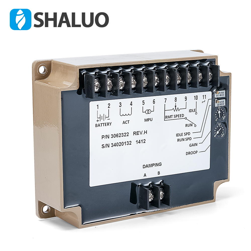 Generator Speed Controller 3062322 speed stabilizer electric govornor diesel engine control circuit board module genset part generator speed controller 3044195 for diesel engine genset
