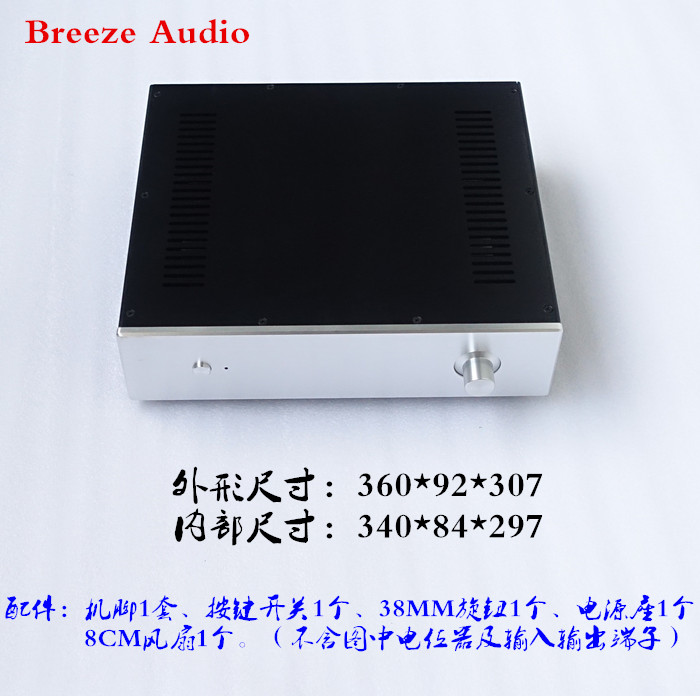 Preamp Amplifier Chassis / Aluminum Case DAC amp Shell / DIY amp case wa60 full aluminum amplifier enclosure mini amp case preamp box dac chassis