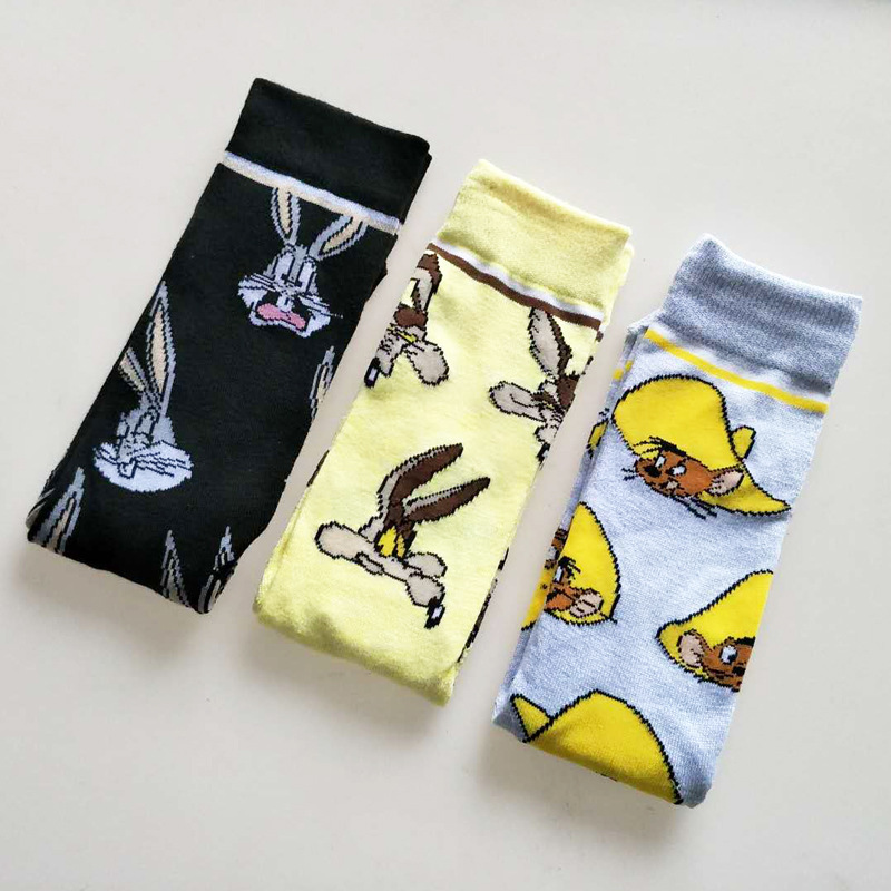 Mens Womens Cute Halloween Pumpkin King Socks Novelty Casual Custom Socks Hip Hop Cartoon Elite Crew Socks