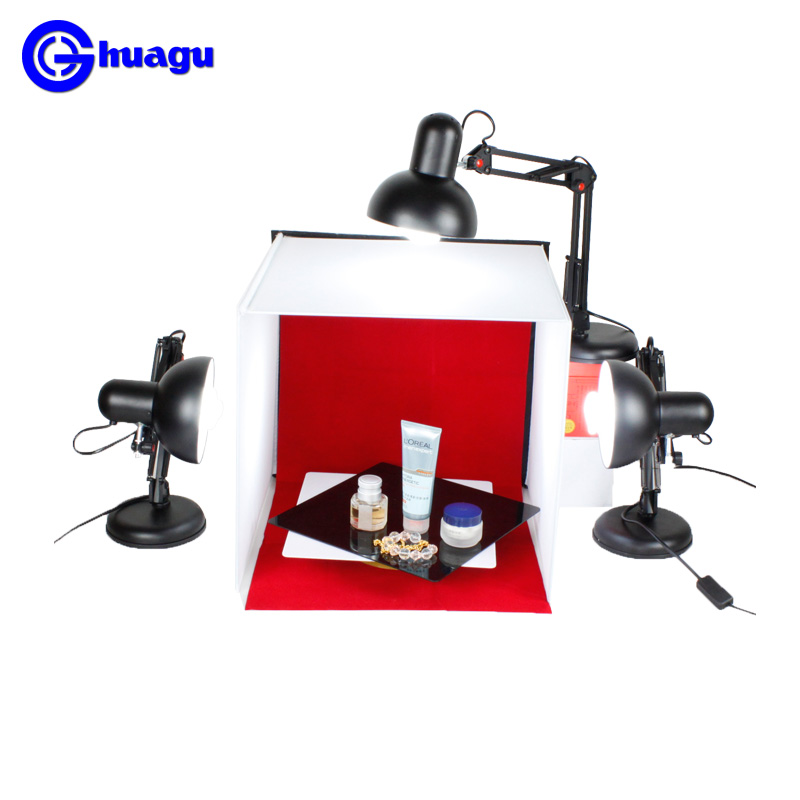 lighting set Small Studio Mini Set 40cm Jewelry Photo Soft Light Boxes Photo Studio Photography Box Photographic Equipment cd50 softbox studio lighting softbox light lambed 80cm cotans round cotans photographic equipment 4 flock printing background cd50