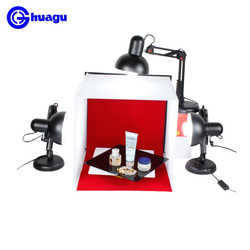 lighting set Small Studio Mini Set 40cm Jewelry Photo Soft Light Boxes Photo Studio Photography Box Photographic Equipment cd50