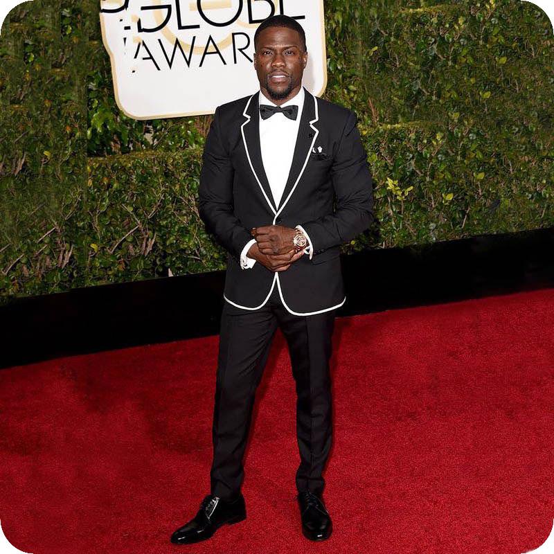 Black Stage Men Suits Wedding Suits Tuxedos Best Man Blazer Prom Slim Fit Formal Groom Wear 2piece Costume Homme Terno Masculino