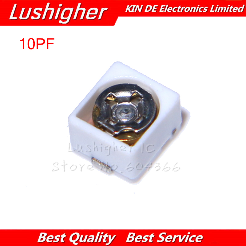 Details about  /10pcs trimmer Adjustable capacitor 3PF 6PF 10PF 20PF 30PF SMD TZC3Z030A110