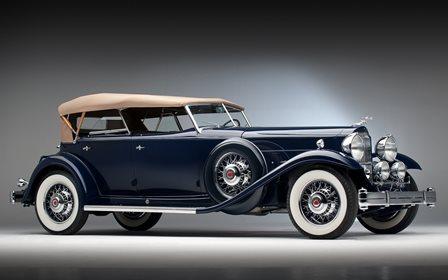 Φ_Φ1932 Packard индивидуальный заказ восемь Спорт Фаэтон ...