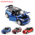 1:32 Alta Simulación Exquisito Tire Hacia atrás Coche de Juguete Modelo de MINI coche Deportivo de Aleación Modelo de Vehículo Modelo juguetes para niños