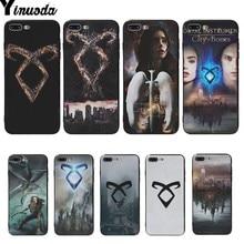 Yinuoda Mortal Instruments City Of Bones beautiful phone cases For iphone 6 6s 6plus 6S plus 7 7plus 8 8plus 5 5S SE Cover