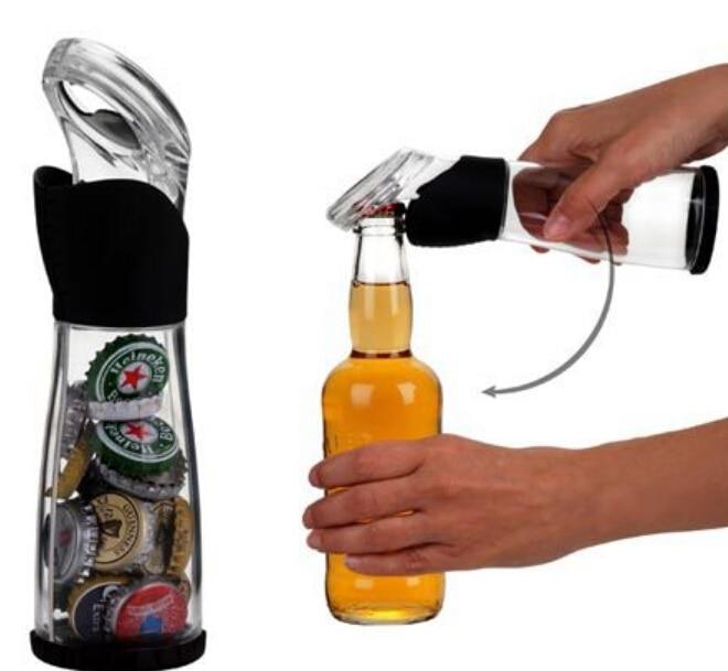 Kreatív sörösüveg sapkás fogó palacknyitó Botter sapkák A - Konyha, étkező és bár - Fénykép 4