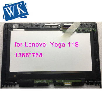 """Free shipping For Lenovo Yoga 11S Laptop Lcd Touch Screen Module with  Bezel 11.6"""" B116XAT02.0 1366*768"""