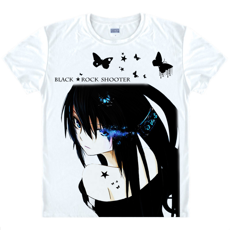 Anime Guilty Crown T-shirt Full Color Printing Casual Unisex Tee S-XXL Hot