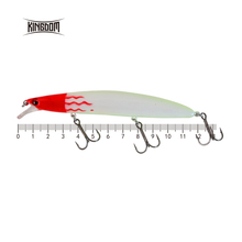 Kingdom fishing lures colorful minnow baits 125mm 20g sea bass wobbler hard bait eight colors available model 3510