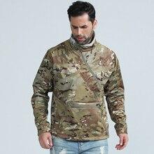 MC тактическая флисовая куртка с капюшоном/ полиэстер Флисовая теплая куртка
