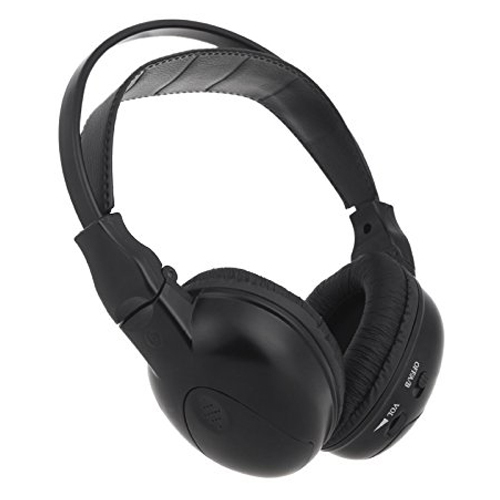 Auricular Inalámbrico de auriculares auriculares Estéreo de infrarrojos de Doble canal IR Reposacabezas de Coches Reproductor de DVD