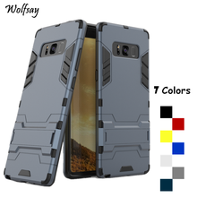 Wolfsay sFor Cover Samsung Galaxy Note 8 Case N5100 Silicone PC Case For Samsung Galaxy Note