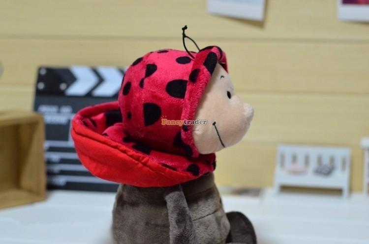 Fancytrader 20\'\' 50cm Copyrighted Plush Stuffed NICI Happy Spring Time Ladybug FT90400 (5)
