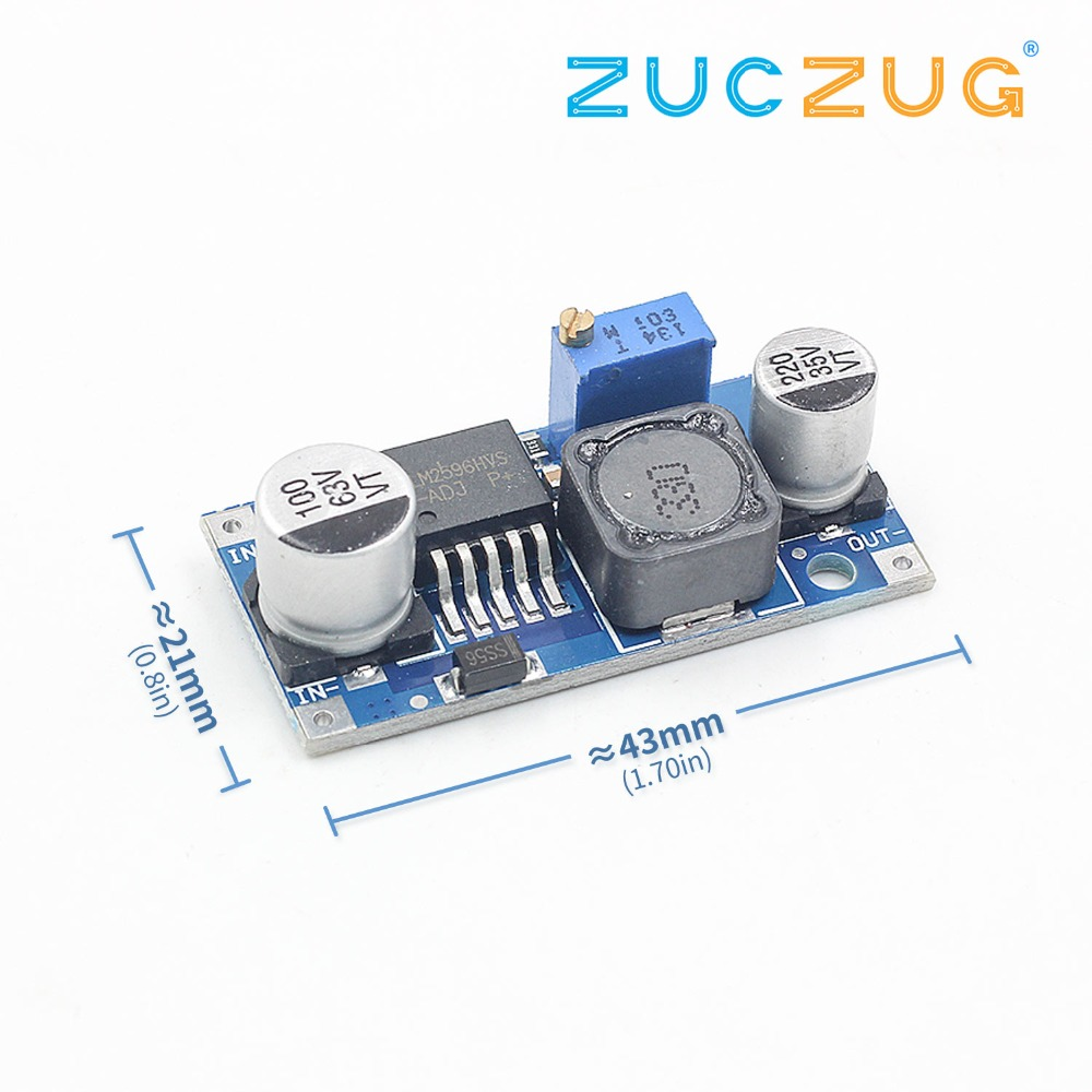 LM2596HVS LM2596 HV LM2596HV DC-DC Adjustable Step Down Buck Converter Power Module 4.5-50V To 3-35V Urrent Limiting