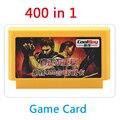 8 бит карточная игра 400 в 1 нет повторные игры Contra патрон игры Плеер с 400 Игр