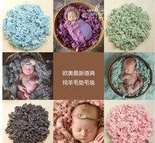 100g/pc Newborn photo prop SALE Basket filler Loose wool fluff  Basket stuffer Newborn photography prop
