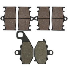 CYLETO Motorcycle Front Rear brake Pads for KAWASAKI ZX9R Ninja 1994 1995 ZX6R ZX 6R 9R ZX600E ZZR400 ZZR 400 Zephyr 400 ZX600F цены